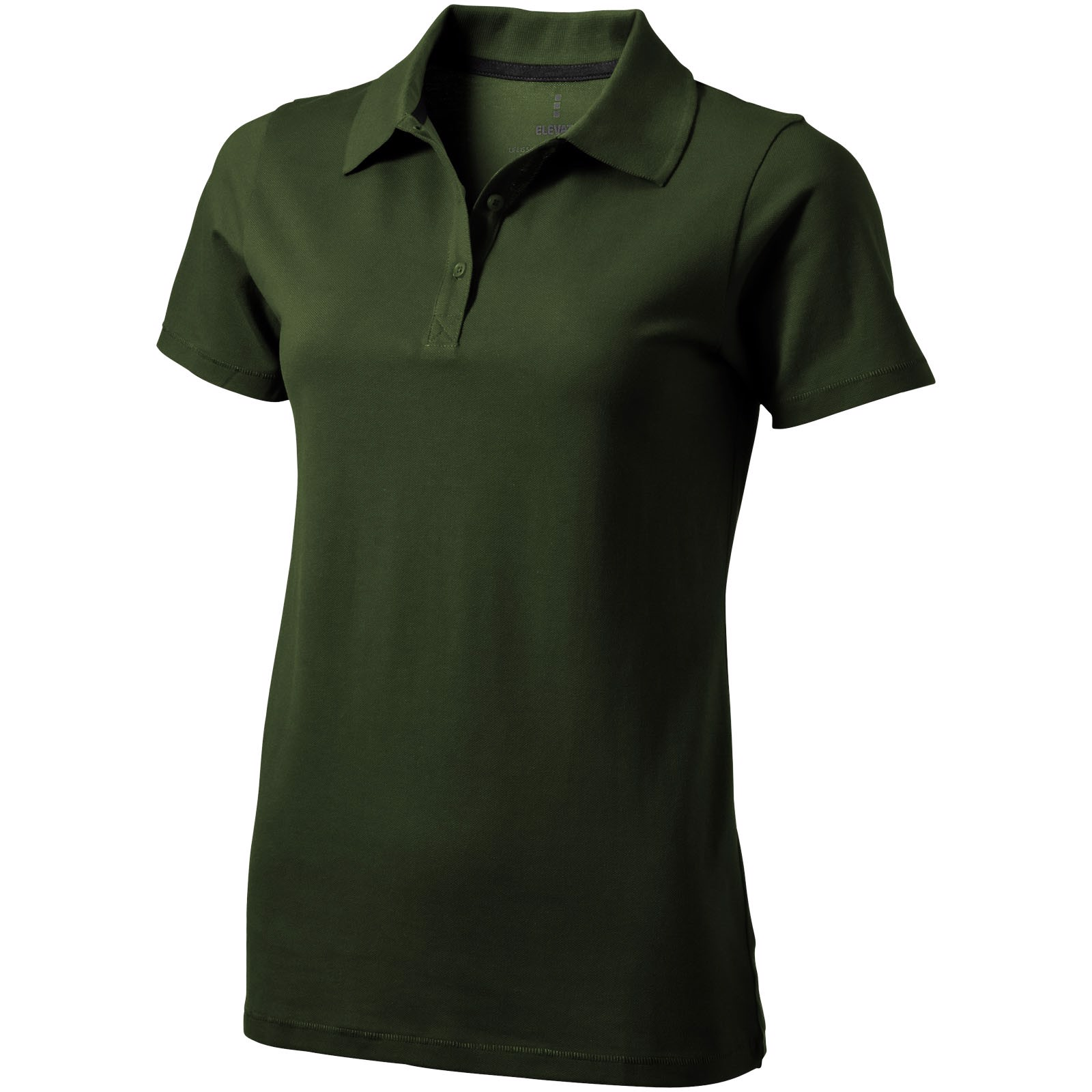 Seller short sleeve women's polo - Army green / L