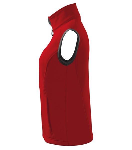 Softshellová vesta dámská Malfini Vision - Červená / M