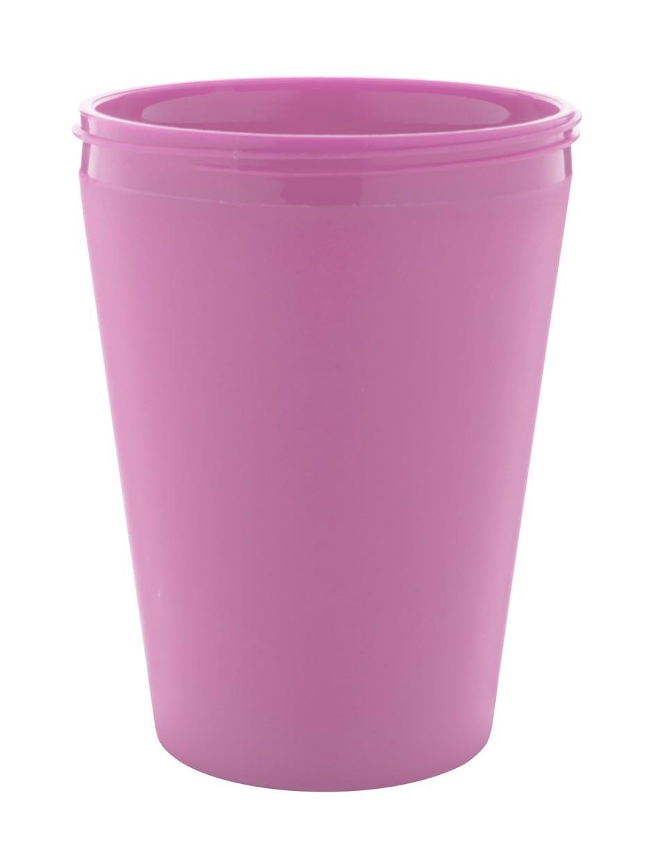 Termo Hrnek Na Zakázku CreaCup Mini - Růžová / B