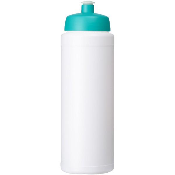 Baseline® Plus 750 ml lahev se sportovním víčkem - Bílá / Tyrkysová