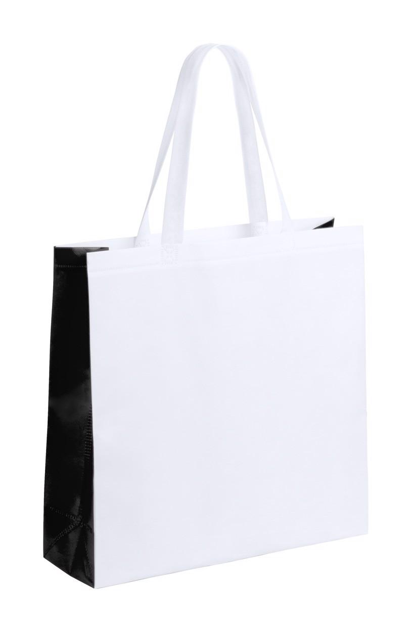 Nákupní Taška Decal - Bílá / Černá