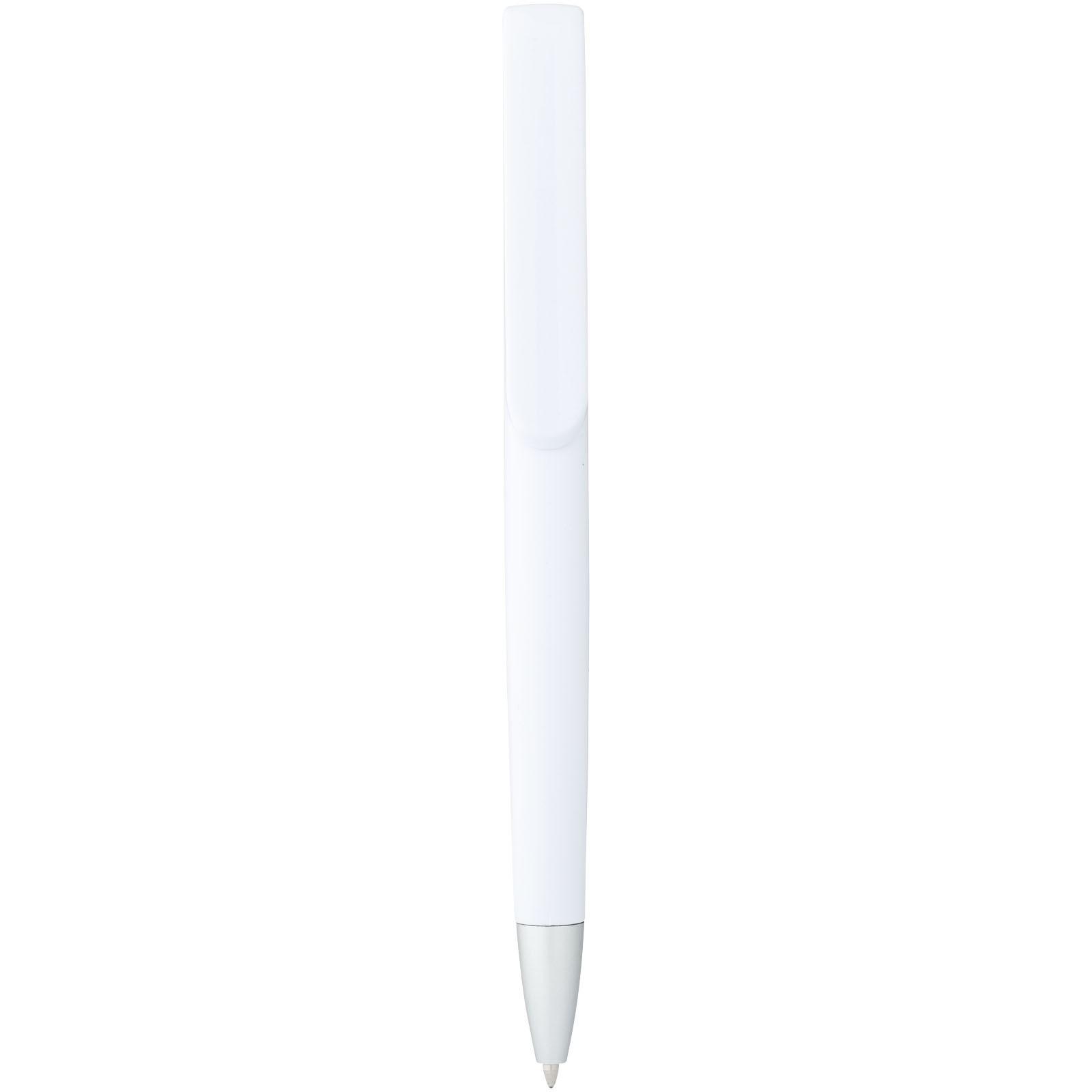 Długopis Rio - Biały / Pomarańczowy