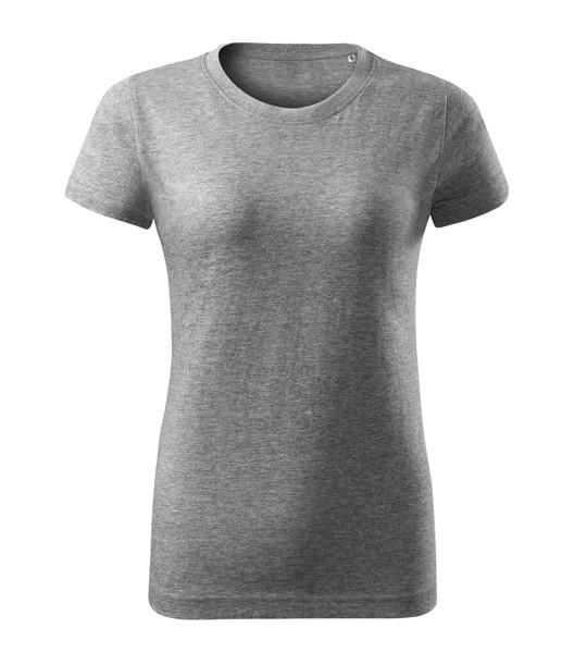 Tričko dámské Malfini Basic Free - Tmavě Šedý Melír / XL