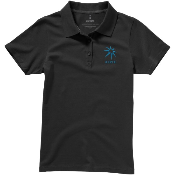 Seller short sleeve women's polo - Anthracite / S
