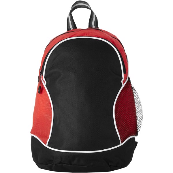 Boomerang backpack - Red / Solid black