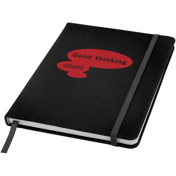 Zápisník s pevnou obálkou A5 Spectrum - Černá