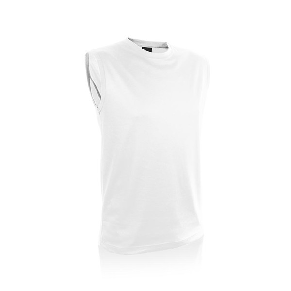 Adult T-Shirt Sunit - White / XXL