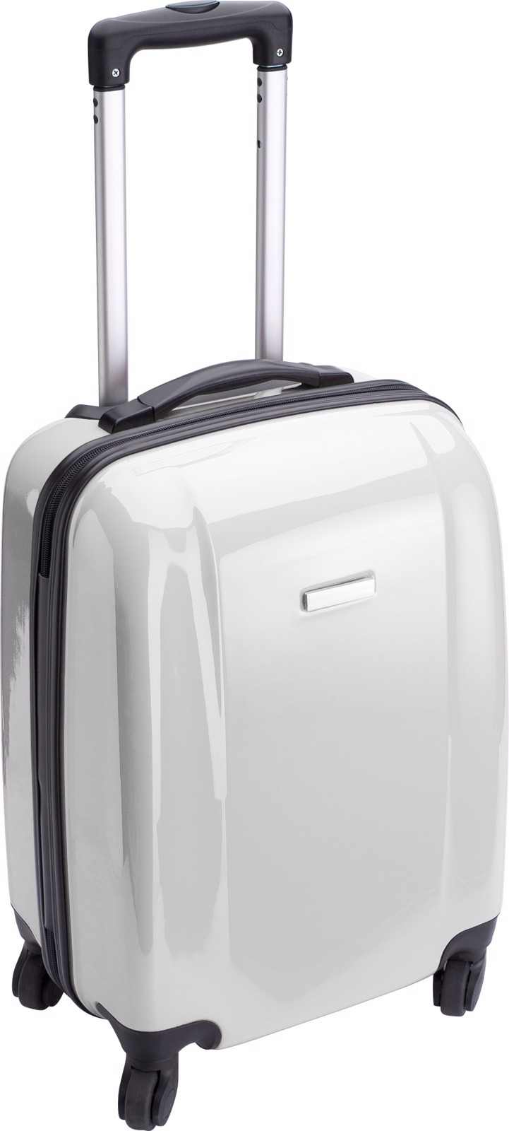PC and ABS trolley - White