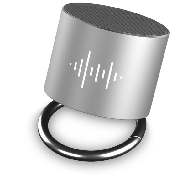 SCX.design S25 ring speaker - Silver / White