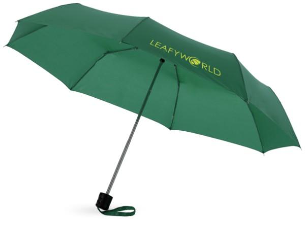 """21,5"""" skládací deštník Ida - Zelená"""
