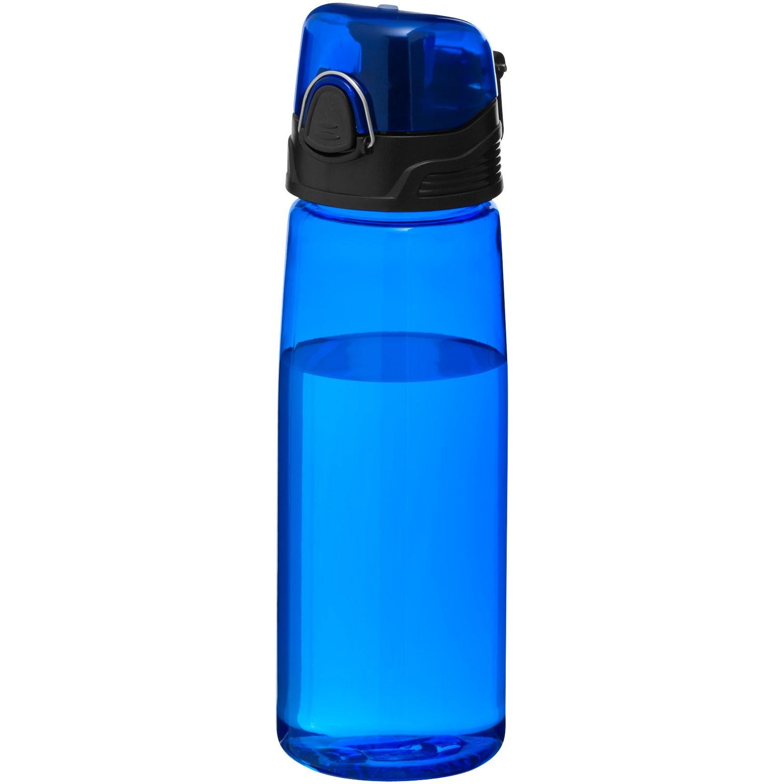 """Bidón de 700 ml """"Capri"""" - Azul transparente"""