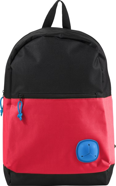Rucksack 'Young' aus Polyester - Red