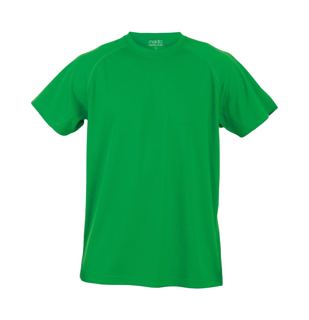 Sportovní Tričko Tecnic Plus T - Zelená / XL