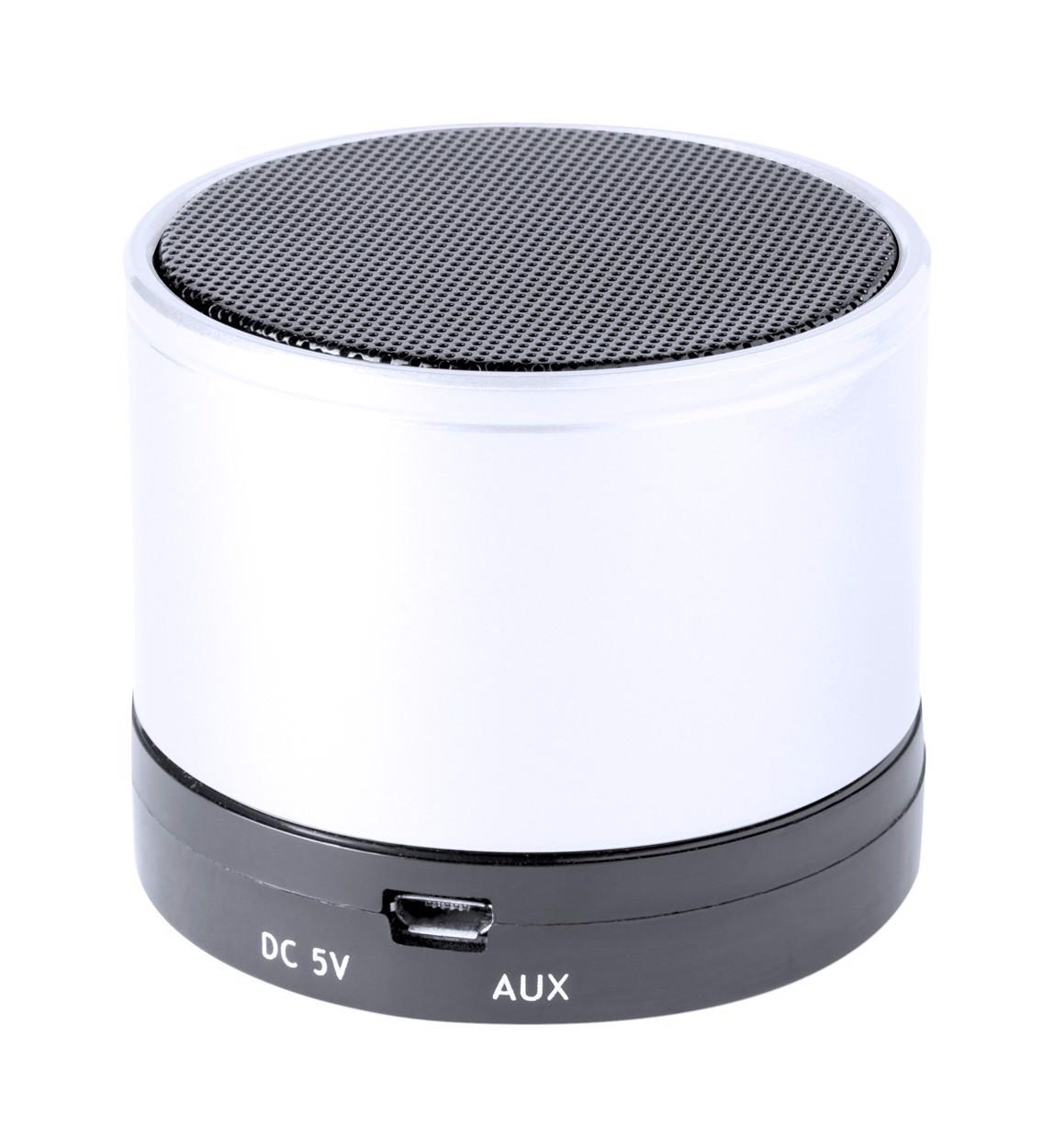 Bluetooth Reproduktor Martins - Bílá / Černá
