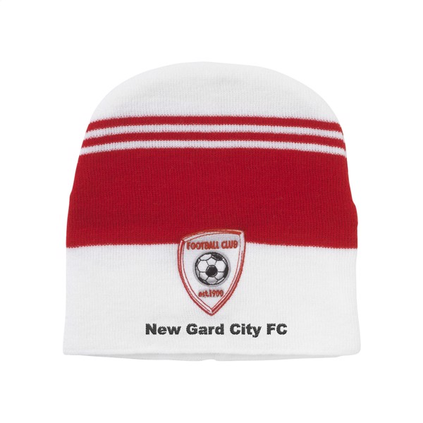 Supporter Beanie including embroidery