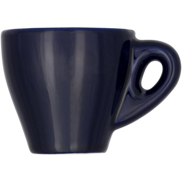 Perk 80 ml colour ceramic espresso mug - Blue