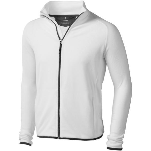 Bunda Brossard z materiálu mikro fleece - Bílá / 3XL