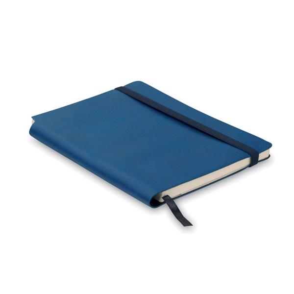 Notebook PU cover lined paper Softnote - Blue