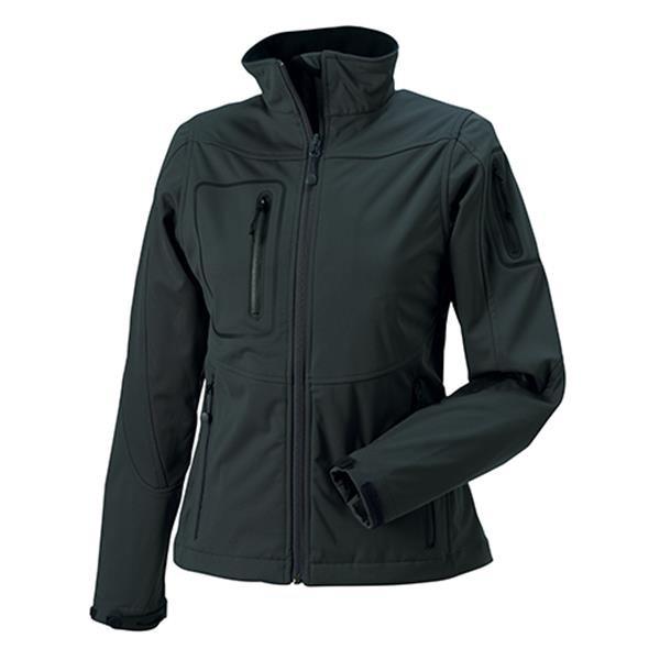 Casaco Sportshell 5000 Women 250G - 100% Poliéster - Cinza Escuro / XS