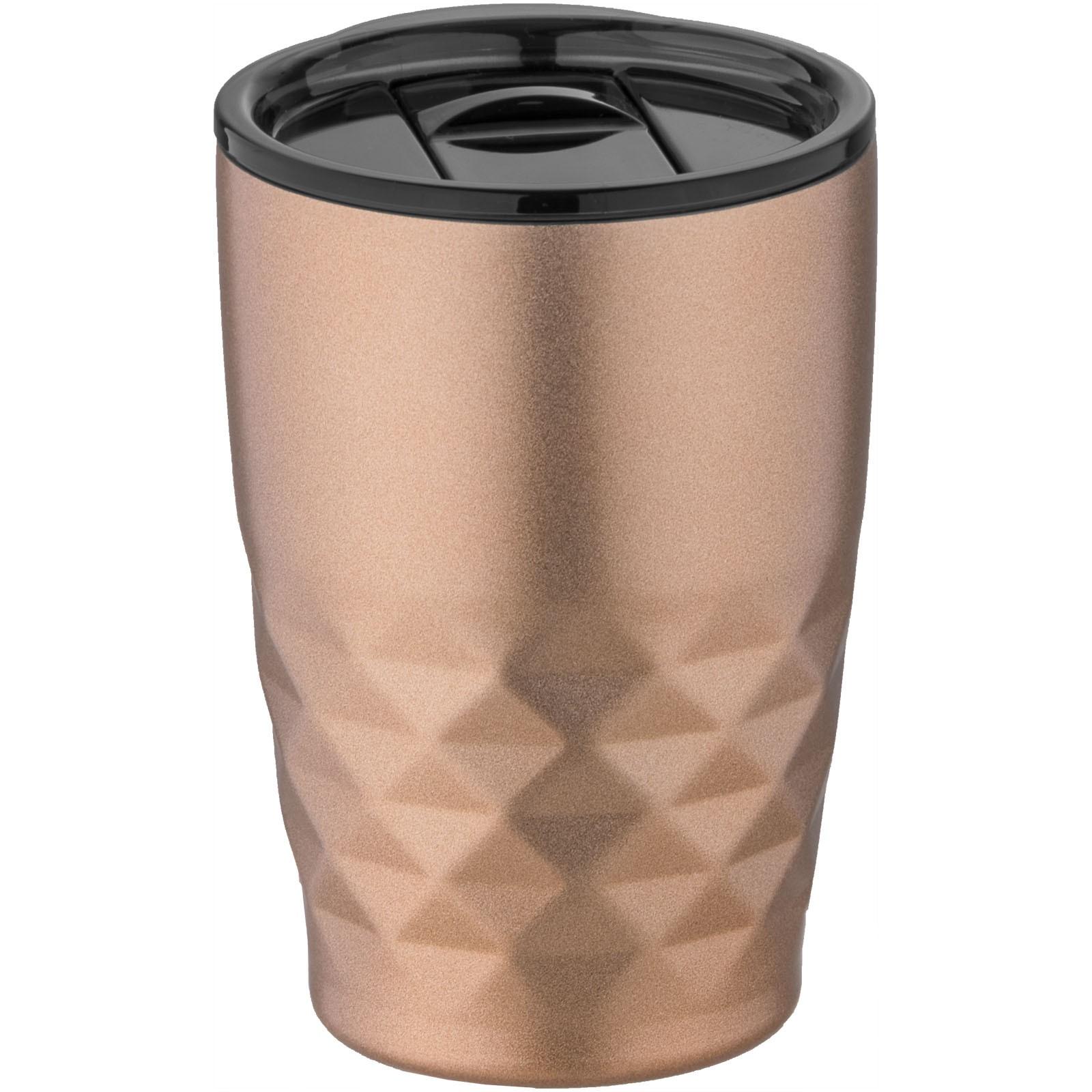 """Vaso isotérmico de 350 ml con aislamiento de cobre al vacío """"Geo"""" - Cobre"""