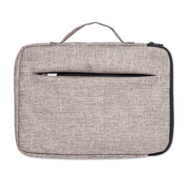 13 inch 600D Laptop bag Slima Bag - Grey