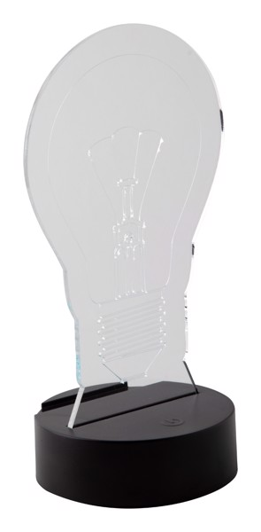 Led Light Trophy Ledify - Transparent / Black