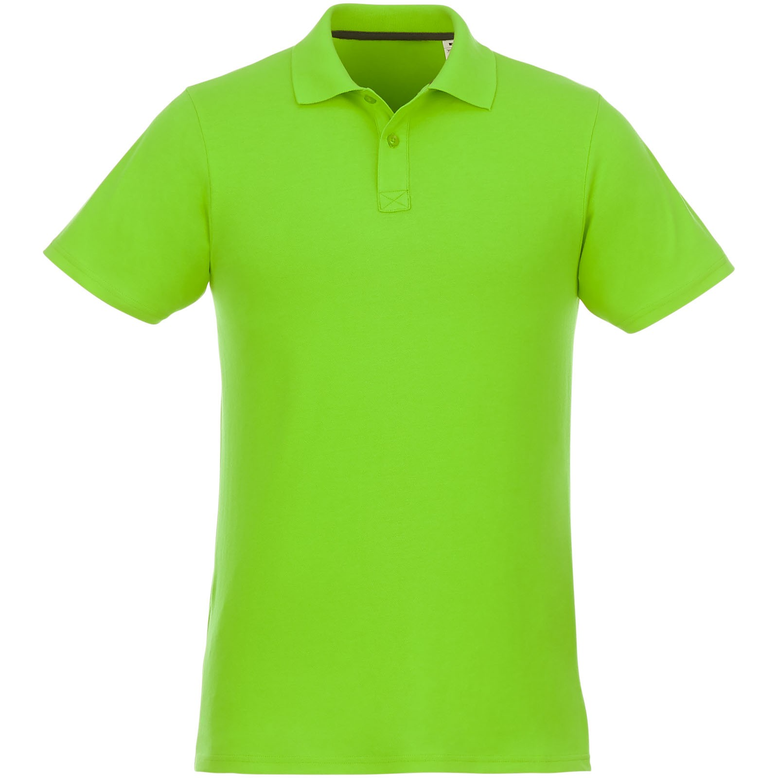 Helios short sleeve men's polo - Apple green / XS