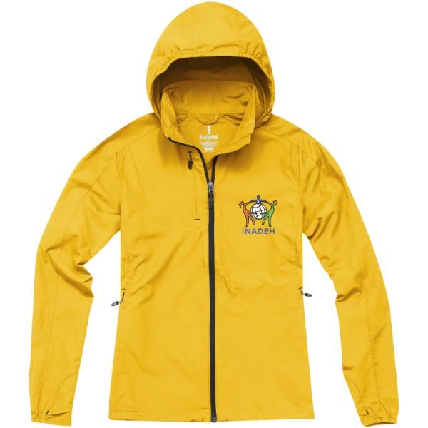 Lehká dámská bunda Flint - Žlutá / L