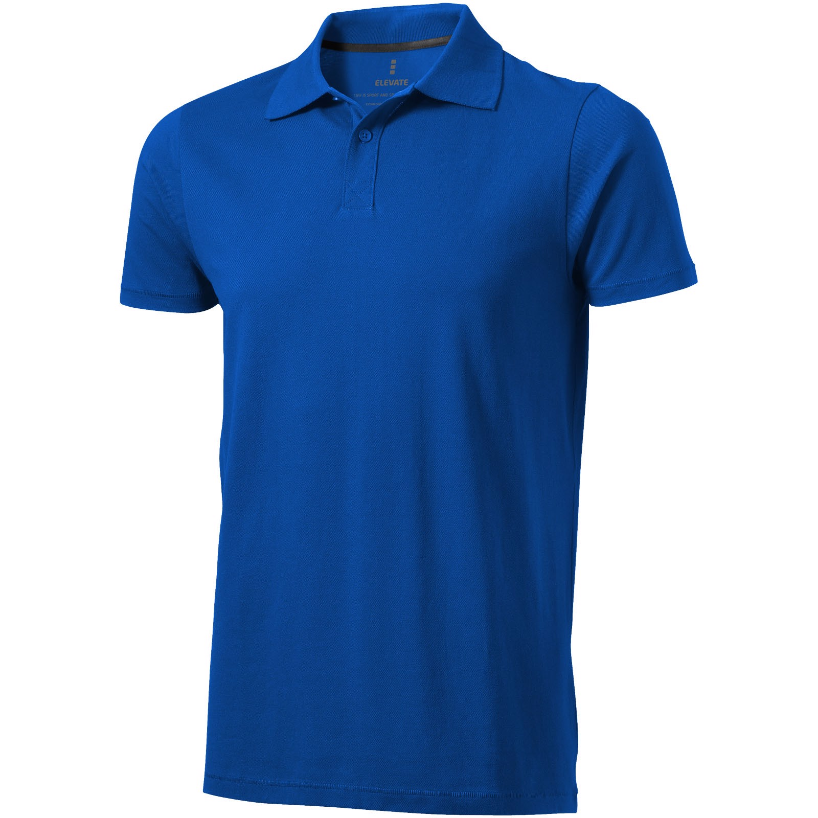 Seller short sleeve men's polo - Blue / XS