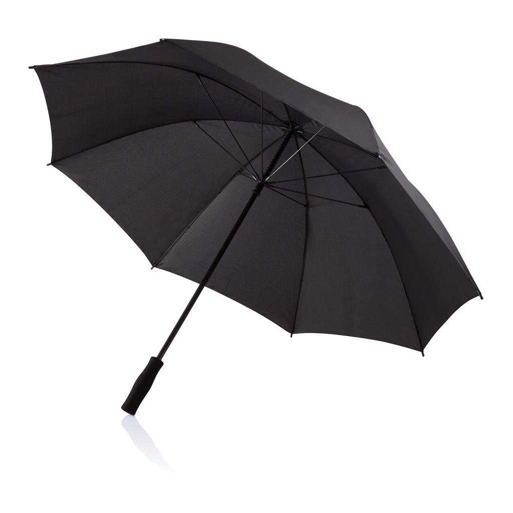 """30"""" odolný deštník Deluxe - Černá"""