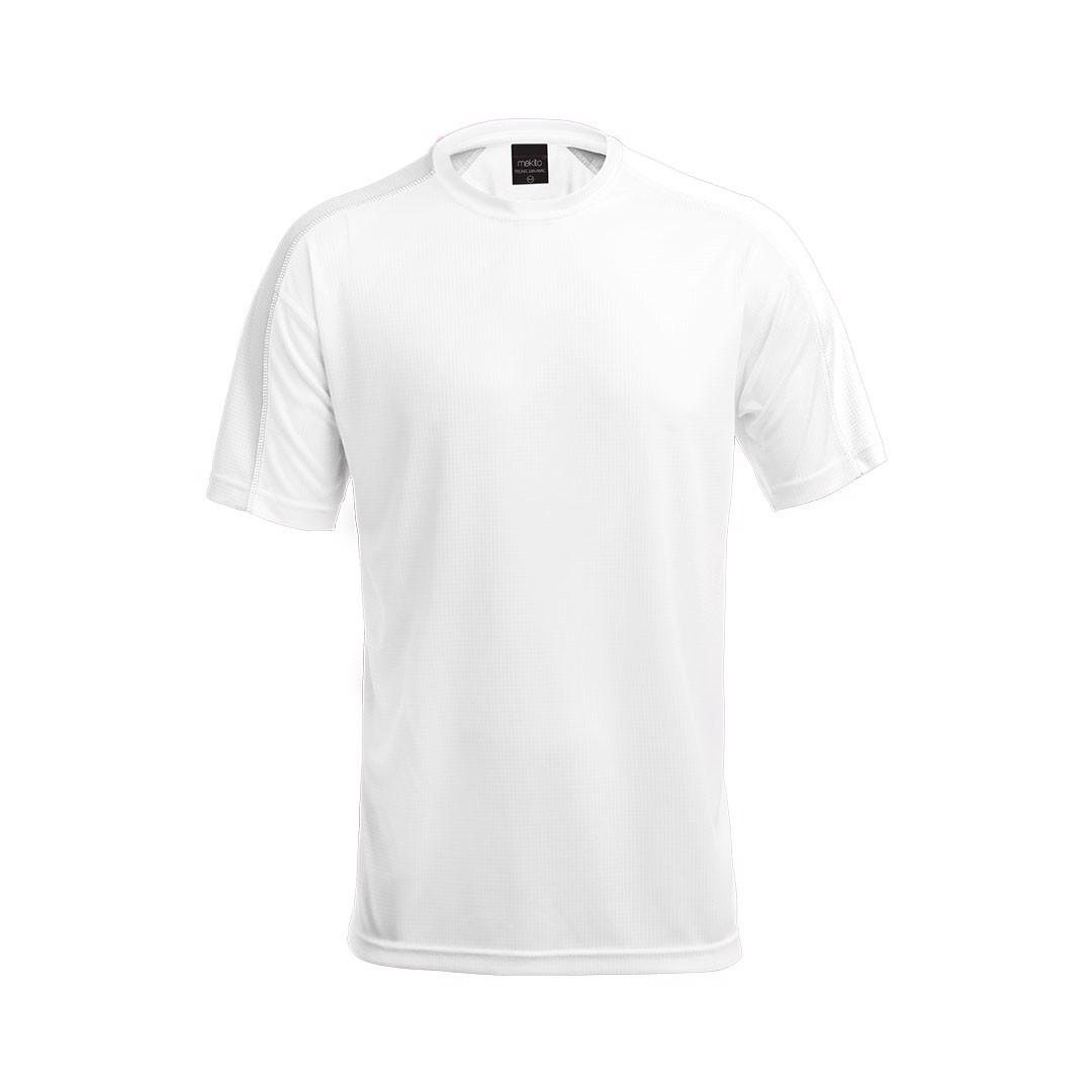 T-Shirt Adulto Tecnic Dinamic - Branco / S
