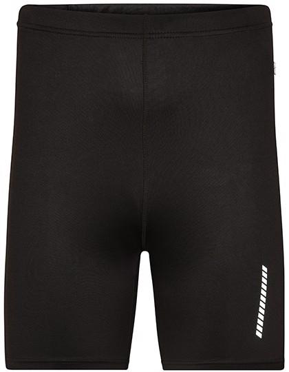 Men`S Running Short-Tights - Black / M