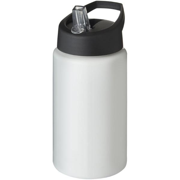 Sportovní láhev svíčkem shubičkou H2O Bop 500 ml - Bílá / Černá