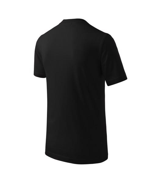 Tričko dětské Malfini Basic - Černá / 122 cm/6 let