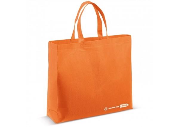 Schoulder bag R-PET 100g/m² - Orange