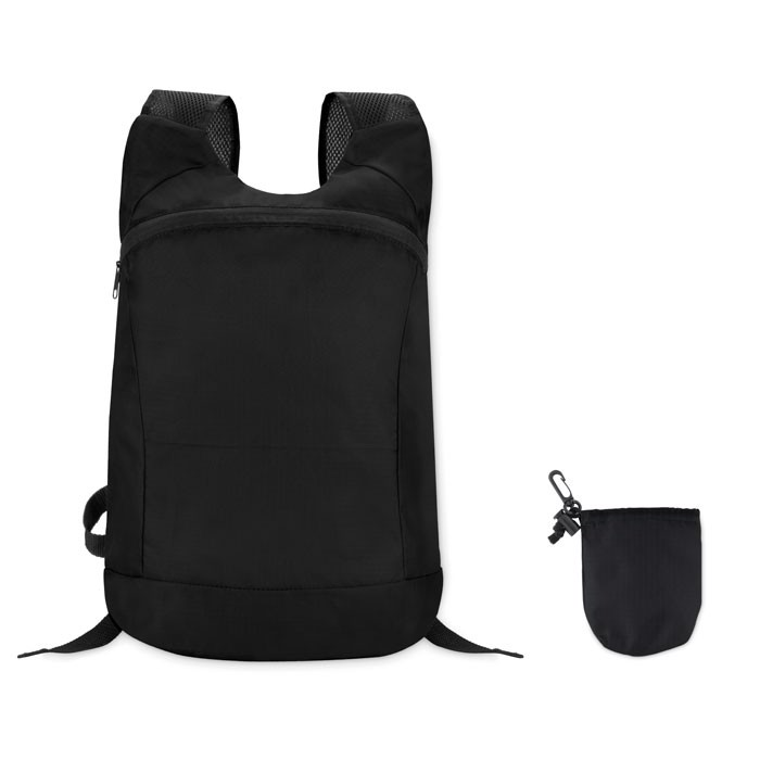 Sports rucksack in ripstop Joggy - Black