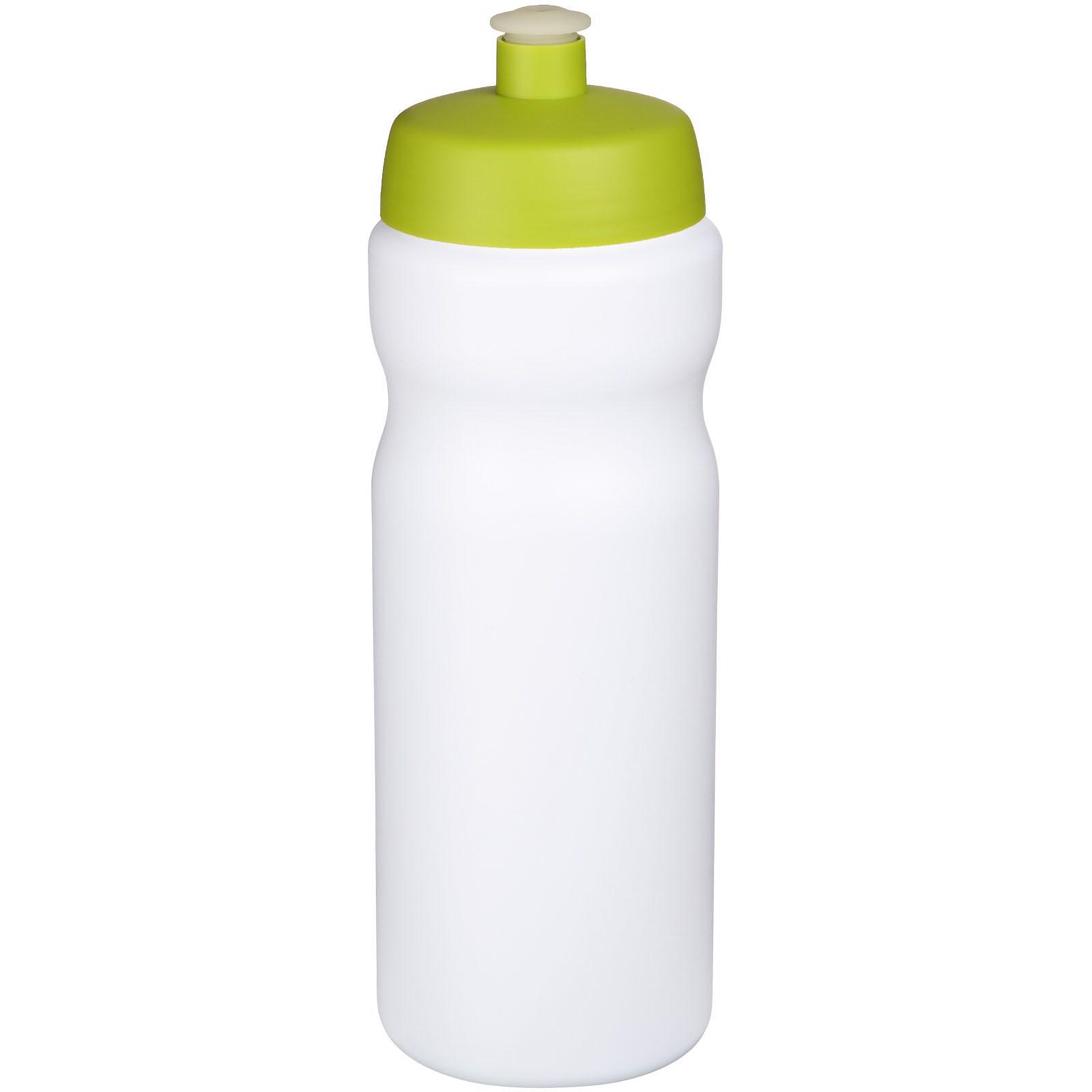 Baseline® Plus 650 ml sportovní lahev - Bílá / Limetka