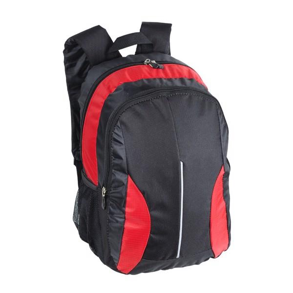 Des Moines backpack - Red / Black