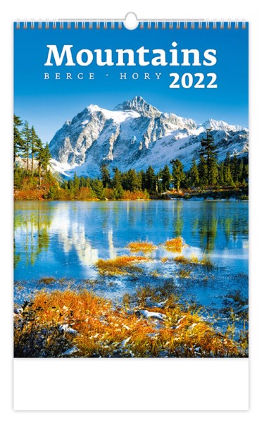 Měsíční kalendář Hory 2022