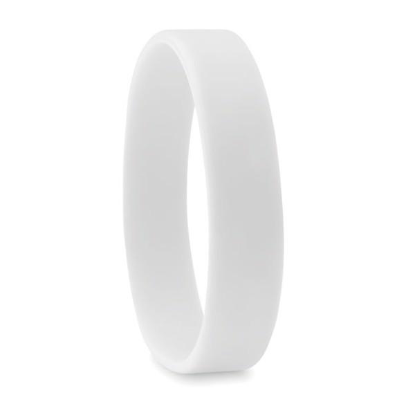 Silicone wristband Event - White