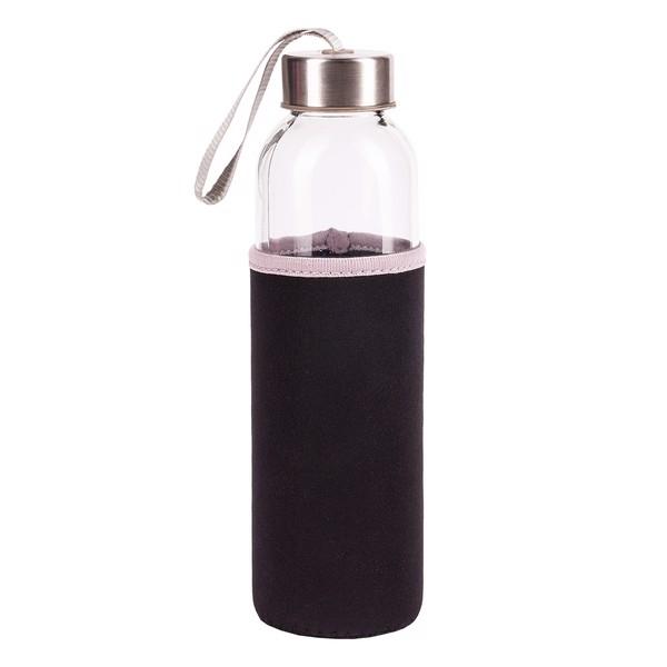 Vim glass bottle 500 ml  - Black