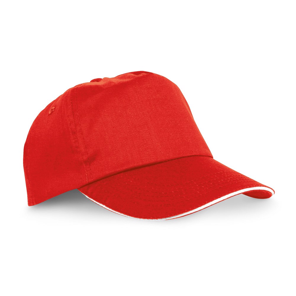 "CLAIRE. ""Sandwich"" cap - Red"