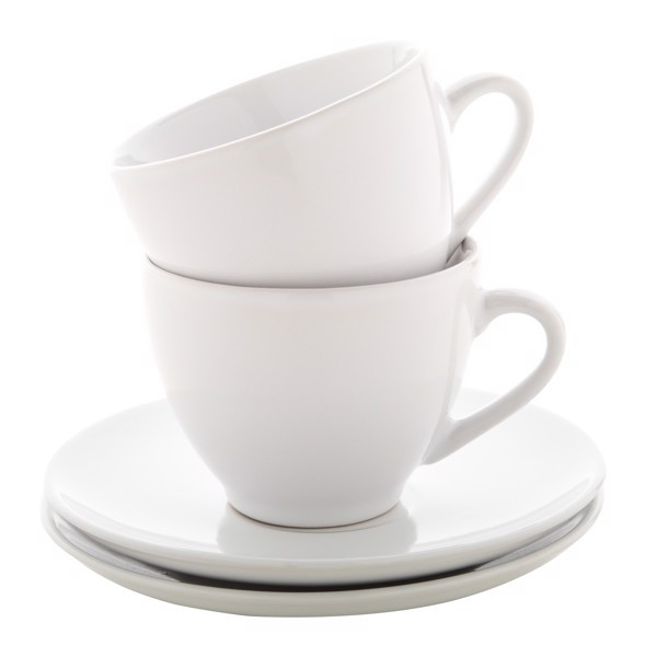 Cappuccino Cup Set Typica - White