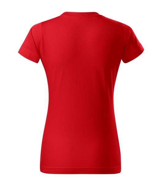 Tričko dámské Malfini Basic Free - Červená / XL