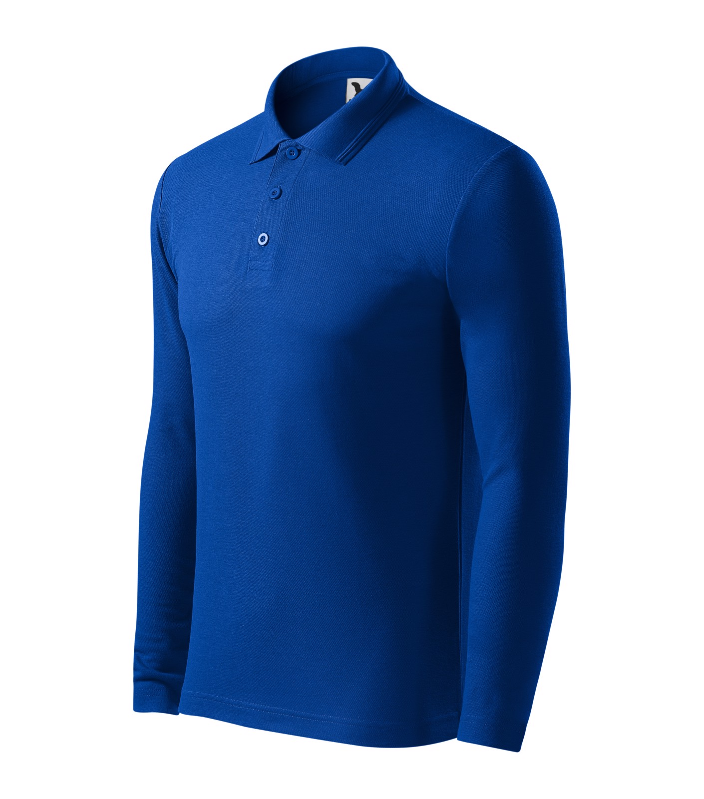 Polokošile pánská Malfini Pique Polo LS - Královská Modrá / S