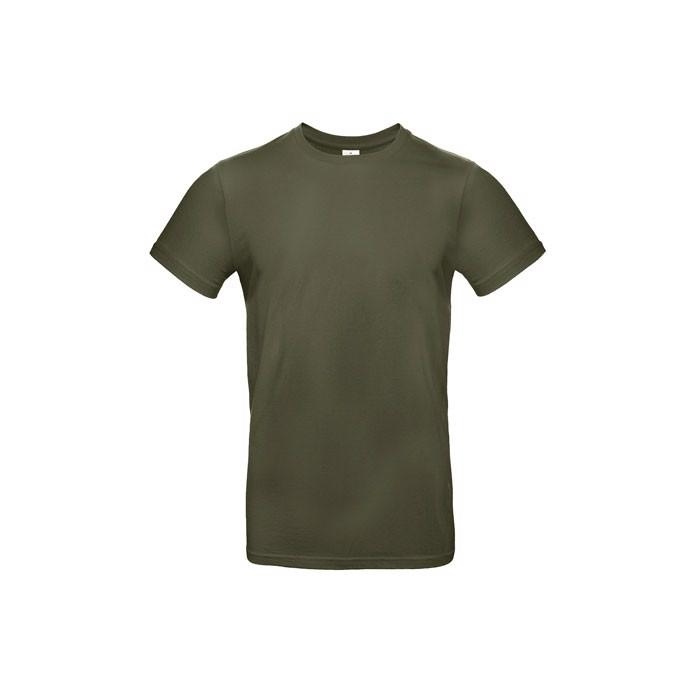 T-shirt male 185 g/m² #E190 T-Shirt - Khaki / XXL