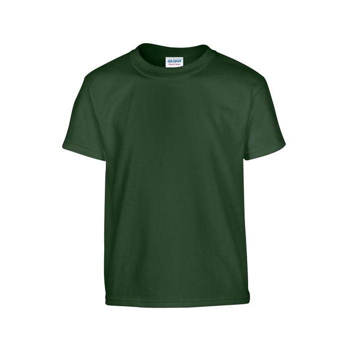 Youth t-shirt 185 g/m² Heavy Youth T-Shirt 5000B - Forest Green / XL