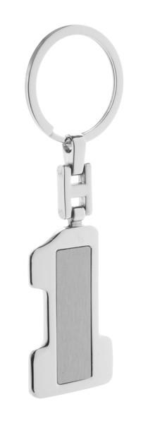 Schlüsselanhänger Primero - Silber