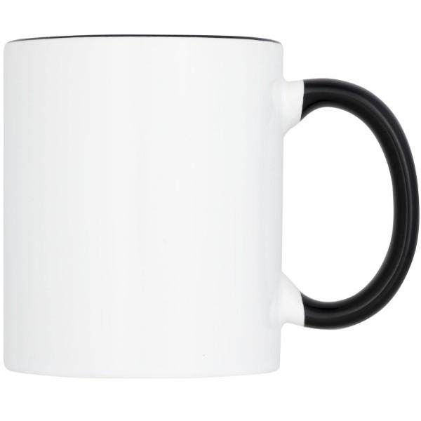 Pix 330 ml ceramic sublimation colour pop mug - Solid black