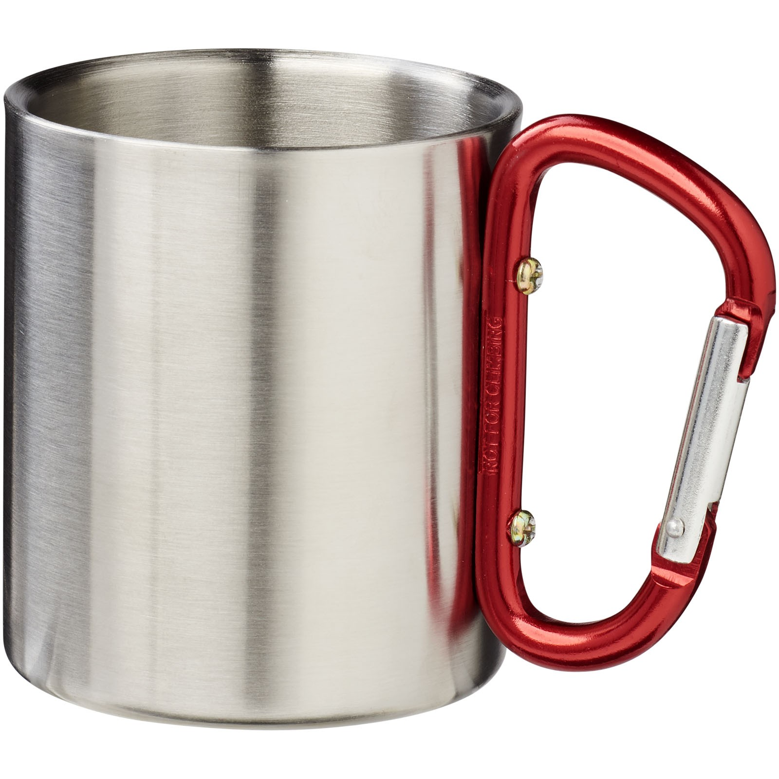 Alps 200 ml insulated mug with carabiner - Red